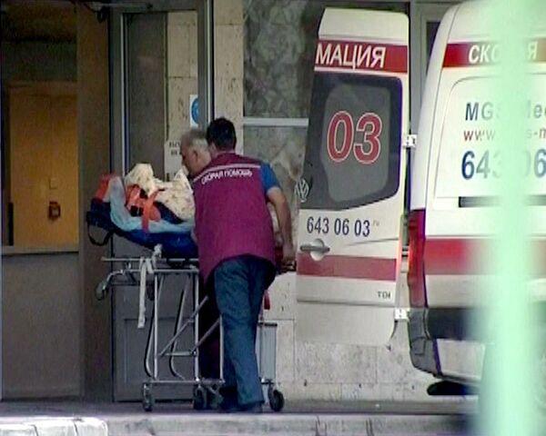 Первый пострадавший в крушении Невского экспресса доставлен в Москву