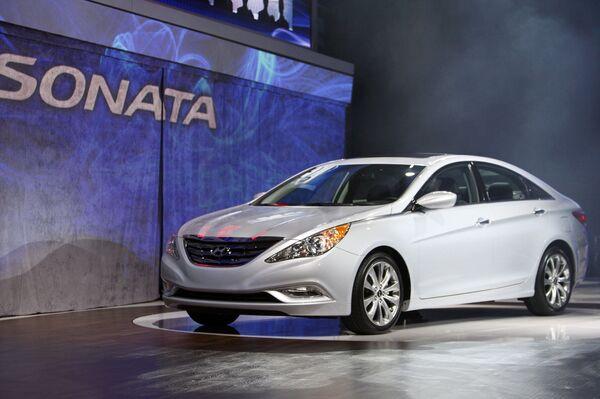 Hyundai Motor отзовет 47,3 тыс автомобилей Sonata из США и Южной Кореи