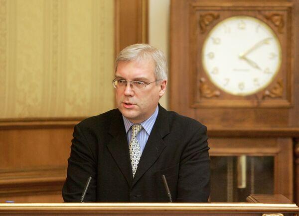 Заместитель министра иностранных дел РФ А.Грушко