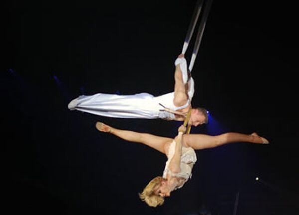 Воздушные гимнасты Волковы