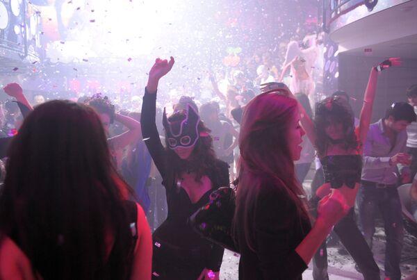 Празднование Хеллоуина в Москве