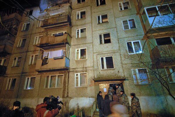 Комиссия решит вопрос о восстановлении разрушенных взрывом газа квартир в Дзержинске