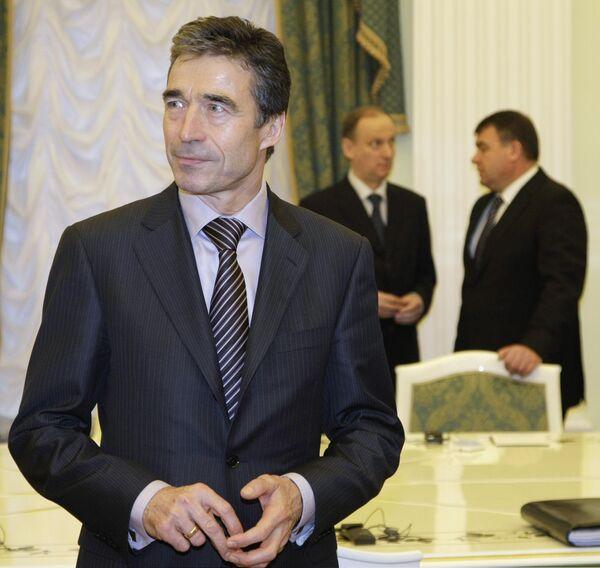 Генсек НАТО А.Расмуссен