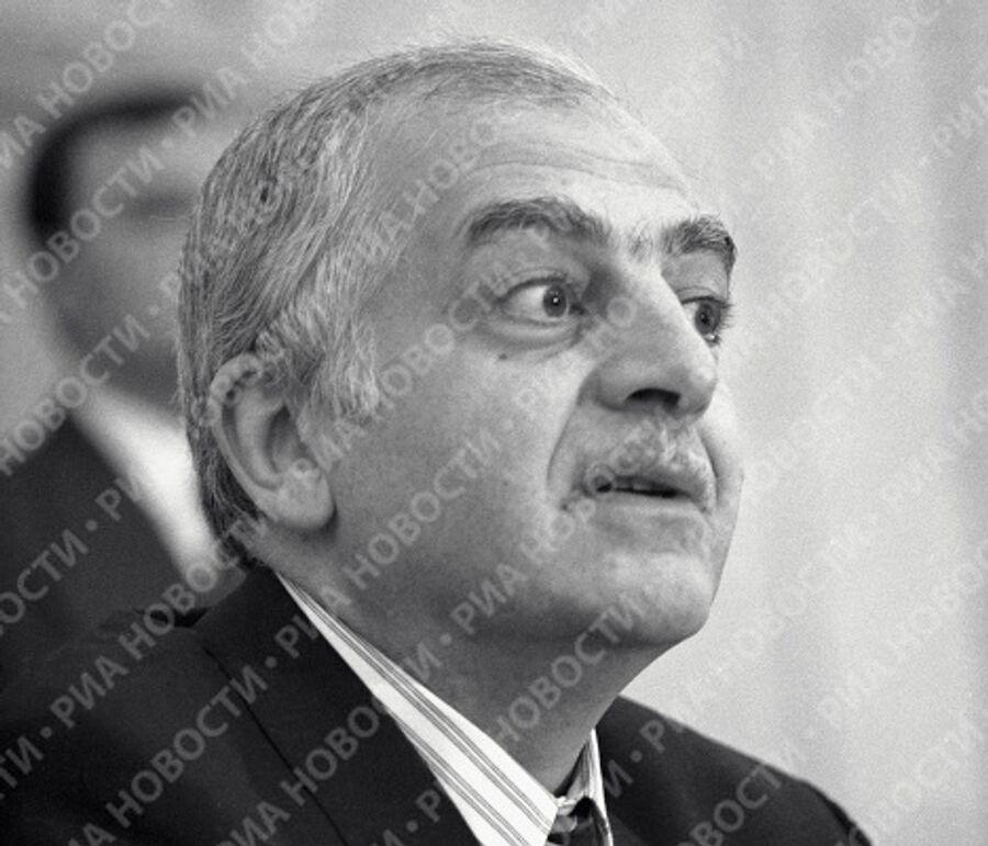 Президент Грузии Звиад Гамсахурдиа