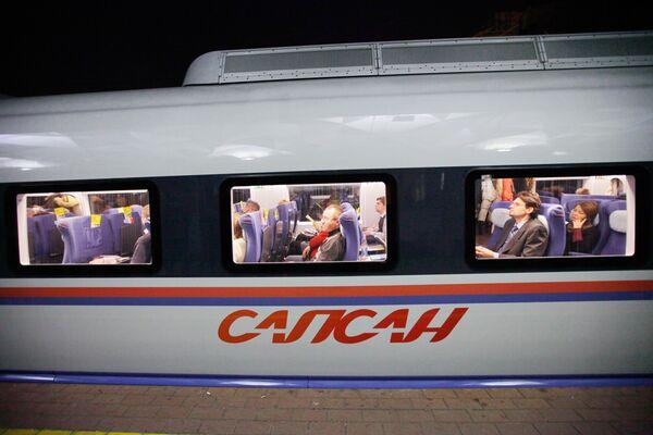 Поезд Сапсан. Архив