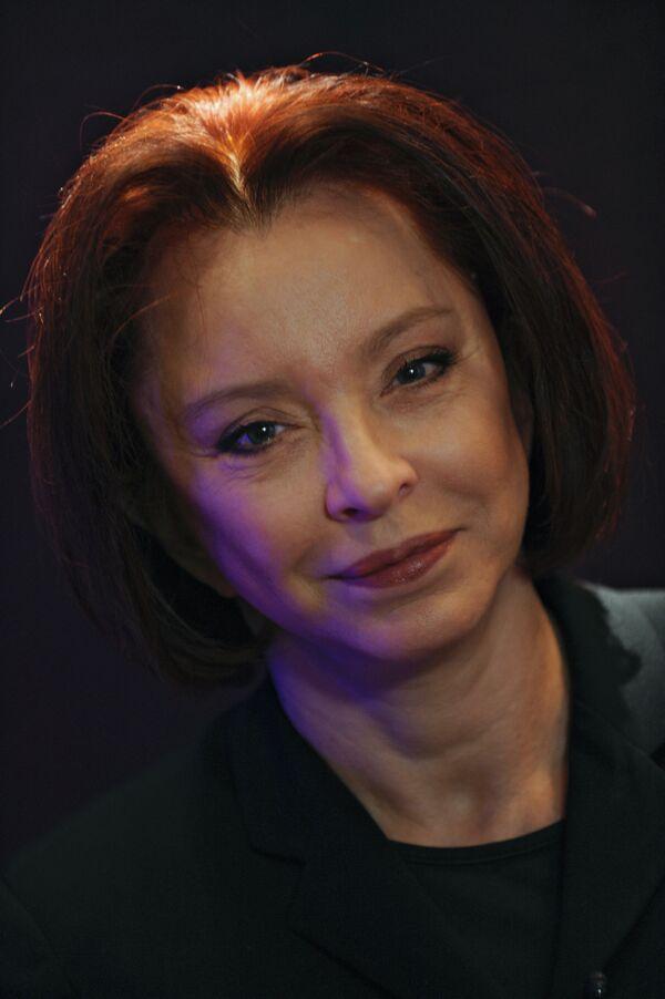 Анастасия Вертинская дала интервью агентству РИА Новости в преддверии юбилея