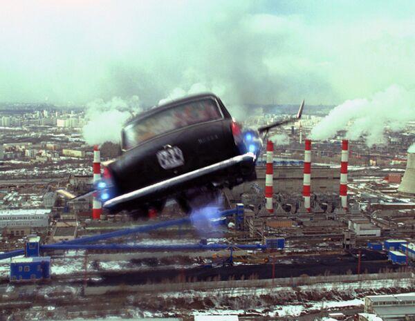 Кадры из фильма Черная молния от продюсера Тимура Бекмамбетова