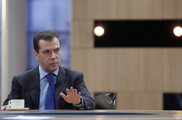 Медведев признался, что больше всего ему не хватает свободы