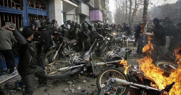 Беспорядки в Тегеране