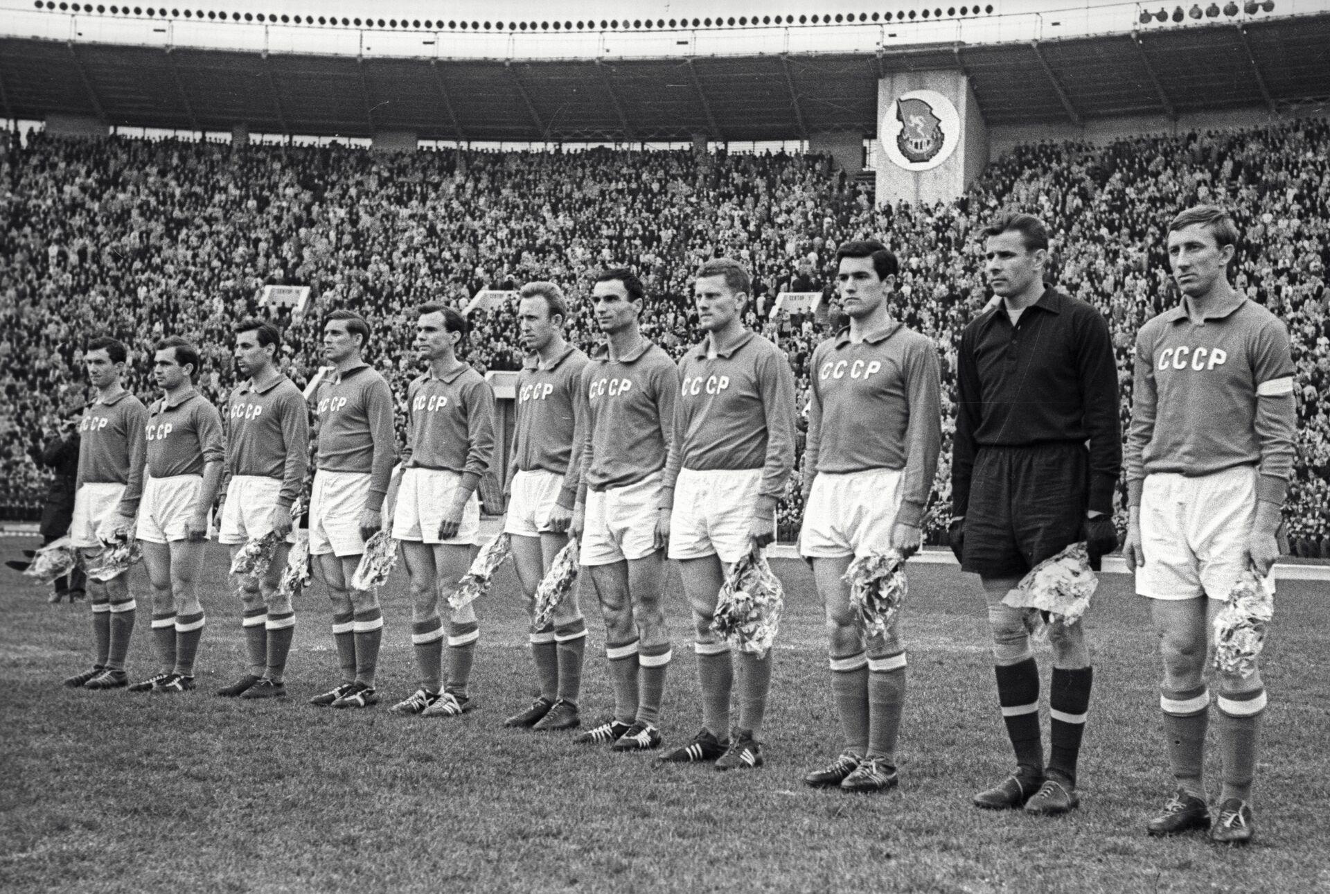Футболисты сборной команды СССР - РИА Новости, 1920, 06.12.2020