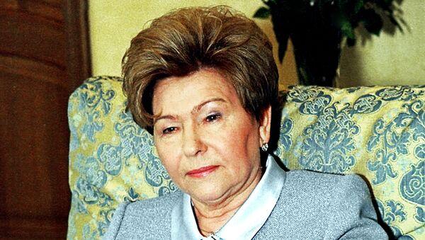 Наина Иосифовна Ельцина накануне своего юбилея