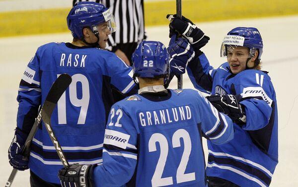 Молодежная сборная Финляндии по хоккею