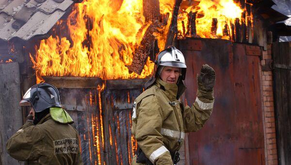 Пилораму в Пермском крае поджег пьяный работник