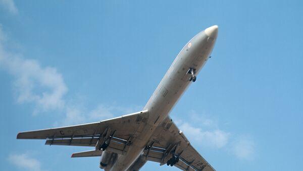 Пассажирский самолет ТУ-154