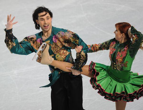 Яна Хохлова и Сергей Новицкий