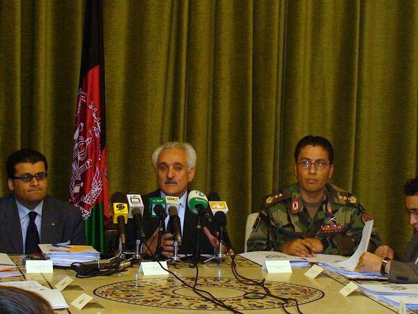 Президент ИРА Хамид Карзай назначил бывшего главу МИД Исламской Республики Рангина Дадфара Спанту главным координатором международной конференции по Афганистану