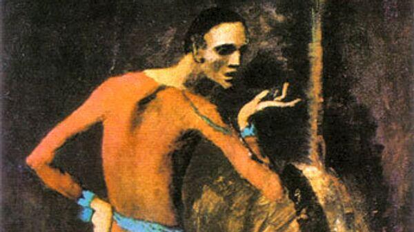 Картина Пабло Пикассо Актер
