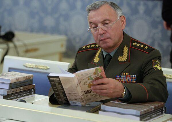 Начальник Генерального штаба Вооруженных Сил РФ Николай Макаров