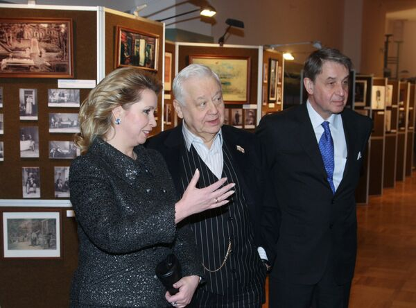 Светлана Медведева посетила юбилейный вечер Наш Чехов в МХТ имени А. П. Чеxова