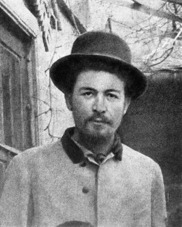 Антон Павлович Чехов перед отъездом на Сахалин