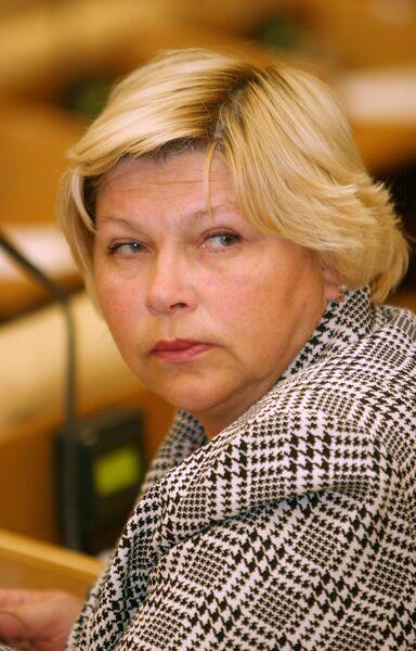 Депутат Государственной Думы Елена Драпеко.