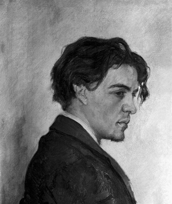 Антон Павлович Чехов. Портрет работы брата писателя
