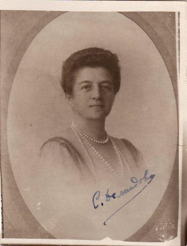 Софья Илларионовна Демидова, именем которой названо новое общество российских эмигрантов.