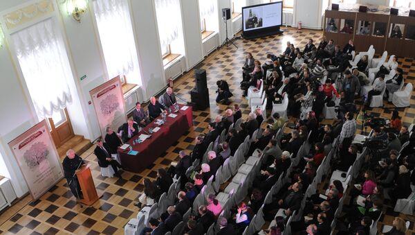 Международная чеховская конференция в Доме Пашкова