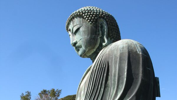 Статуя Будды. Архивное фото