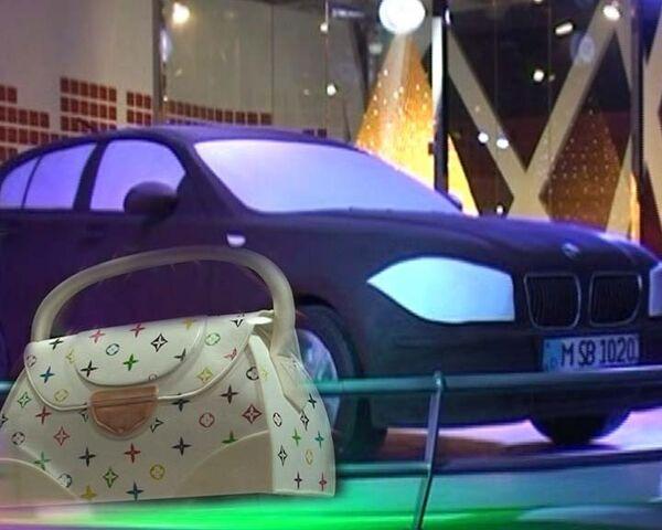 Сладкие сумочки и шоколадный BMW. Съедобные экспонаты китайского музея