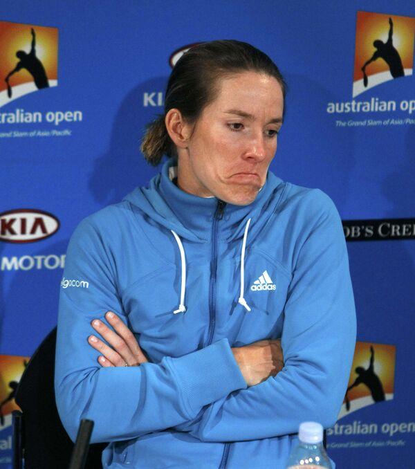 Бельгийская теннисистка Жюстин Энен