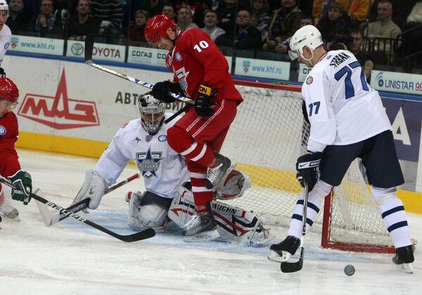 Хоккей. Матч звезд КХЛ. Команда Яшина - Команда Ягра