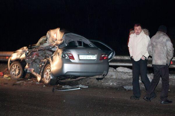 Глава краснодарской гордумы погиб в ДТП на трассе Ейск-Краснодар