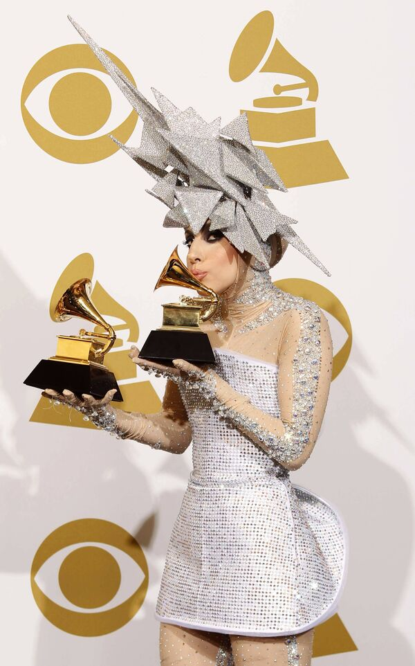 Леди Гага (Lady Gaga) на церемония вручения Грэмми