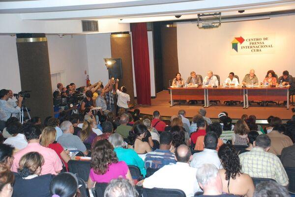 Пресс-конференция, посвященная проведению международной Гаванской книжной ярмарки