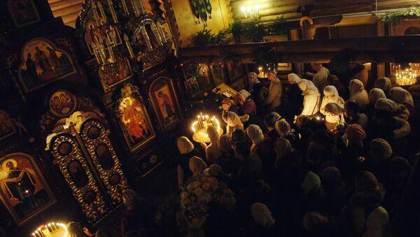 Рождественское богослужение. Архив