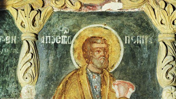 Фреска Апостол Петр