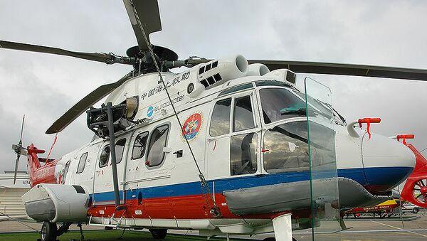 Вертолет Super Puma, архивное фото