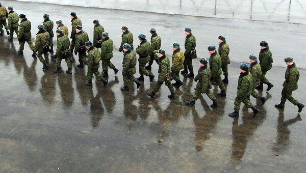 Солдаты. Архив