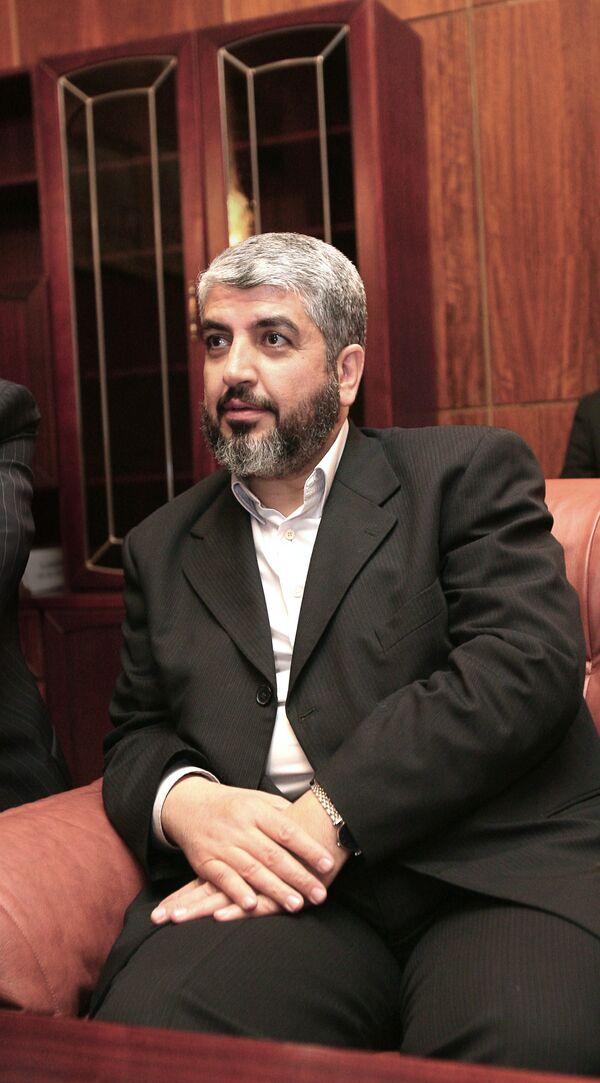 Х.Машааль на пресс-конференции в Москве