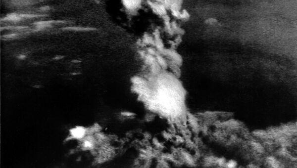 Взрыв атомной бомбы над Хиросимой