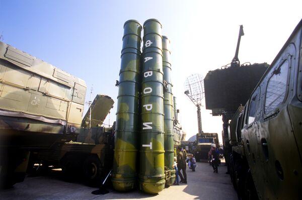 Зенитно-ракетный комплекс дальнего действия С-300 ПМУ Фаворит