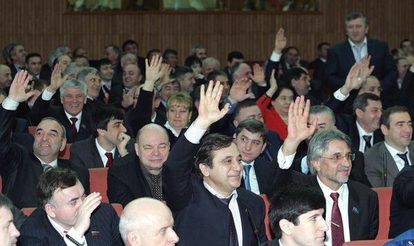 Дагестанский парламент утвердил Магомедсалама Магомедова на пост президента республики