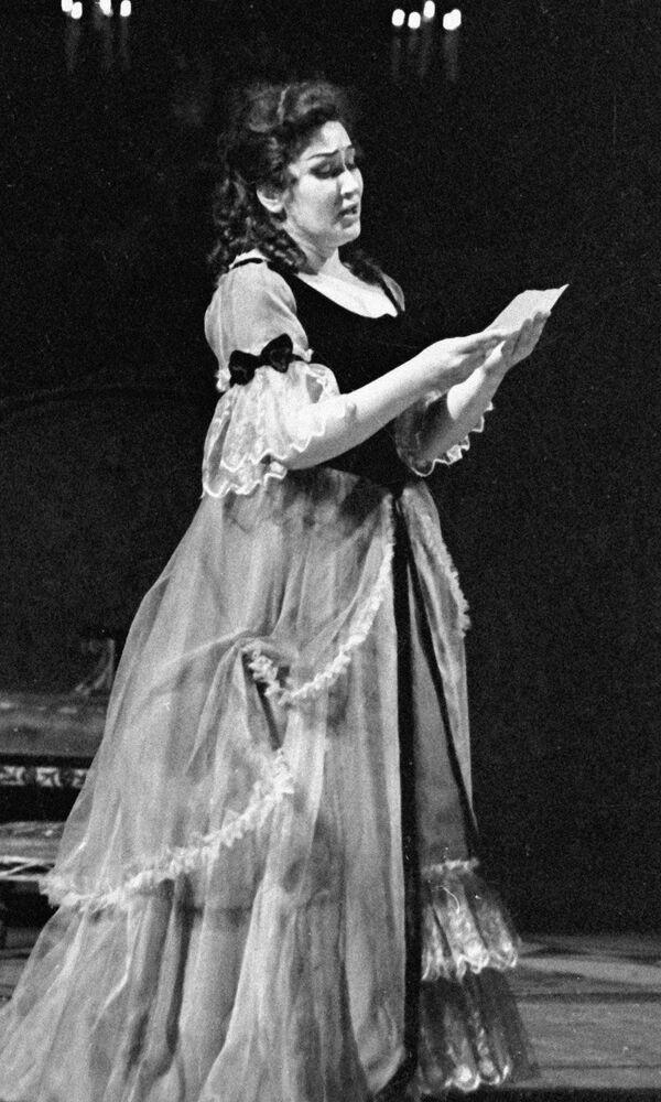 Ирина Архипова в опере «Вертер»