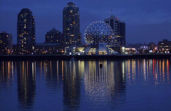 Вид на Русский дом в Ванкувере