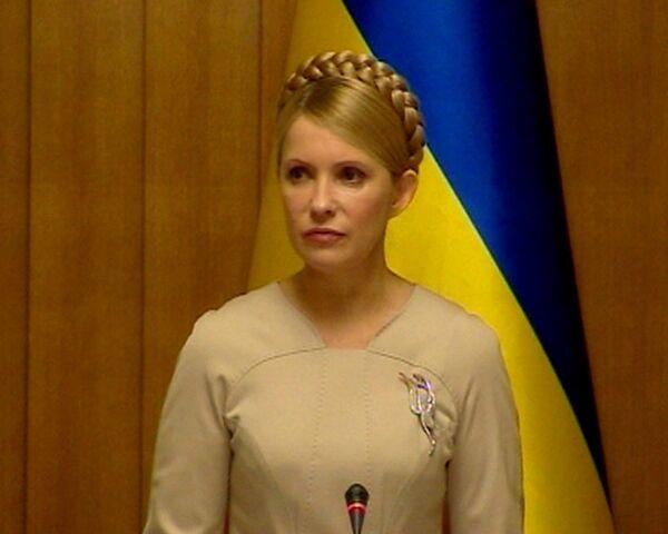 Первое заявление Тимошенко после подсчета голосов