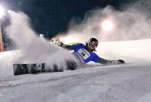 Соревнования по сноубордингу. Архив