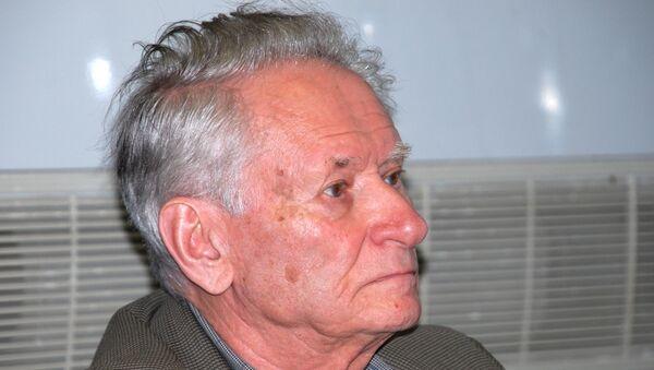 Российский журналист-международник Генрих Боровик