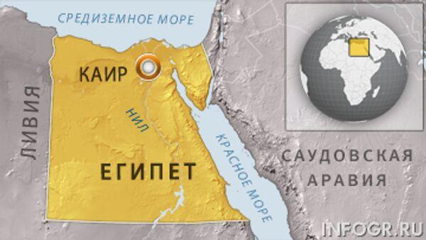 Египет отверг обвинения в потере контроля за безопасностью на Синае