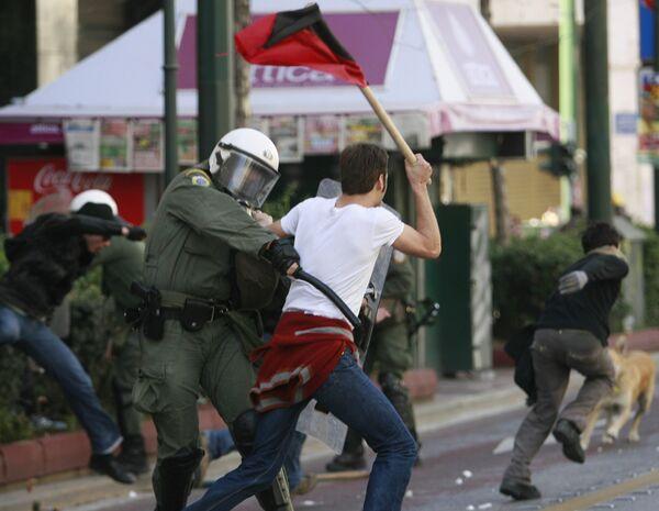 Забастовка в Греции. Архив